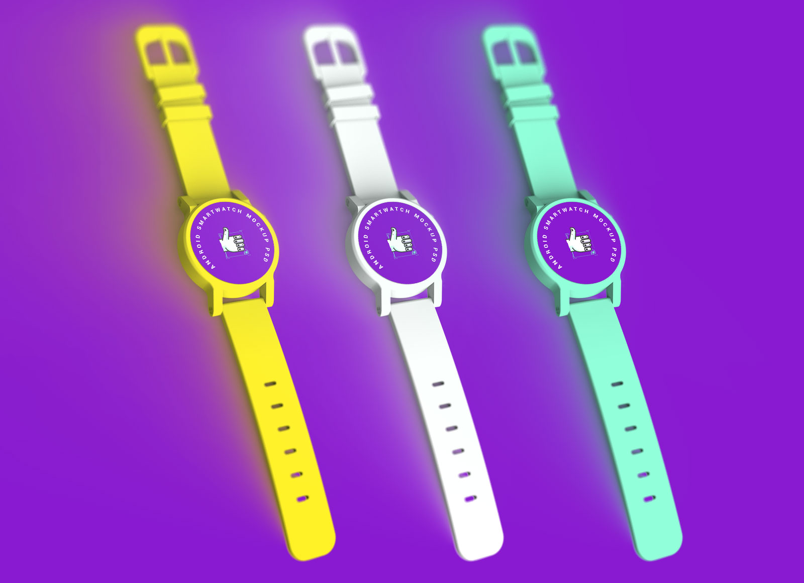 Free-Android-Smartwatch-Mockup-PSD-Set-4