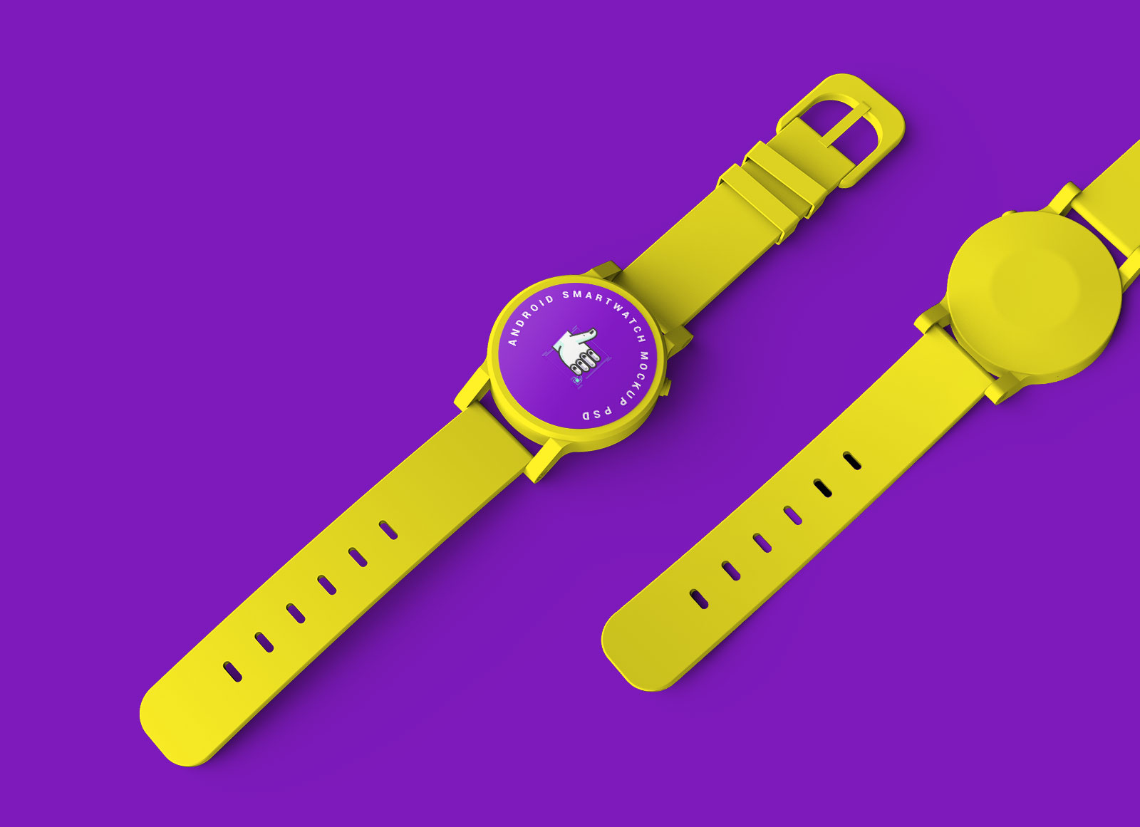 Free-Android-Smartwatch-Mockup-PSD-Set