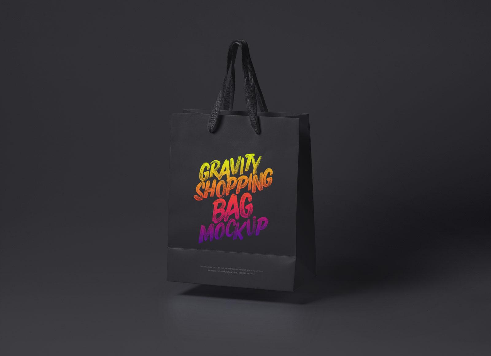 Free-Black-&-White-Floating-Shopping-Bag-Mockup-PSD-3