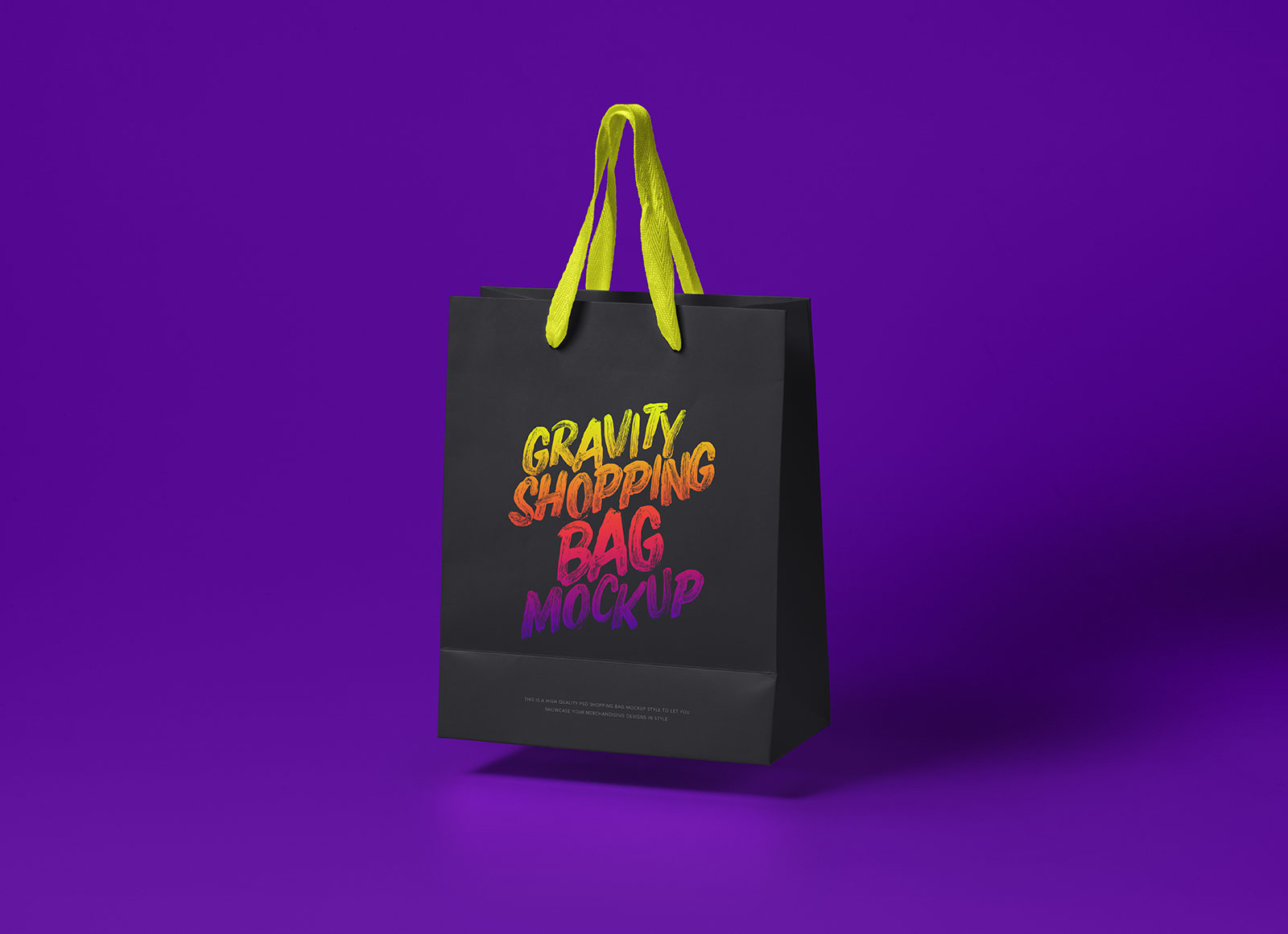 Free-Black-&-White-Floating-Shopping-Bag-Mockup-PSD