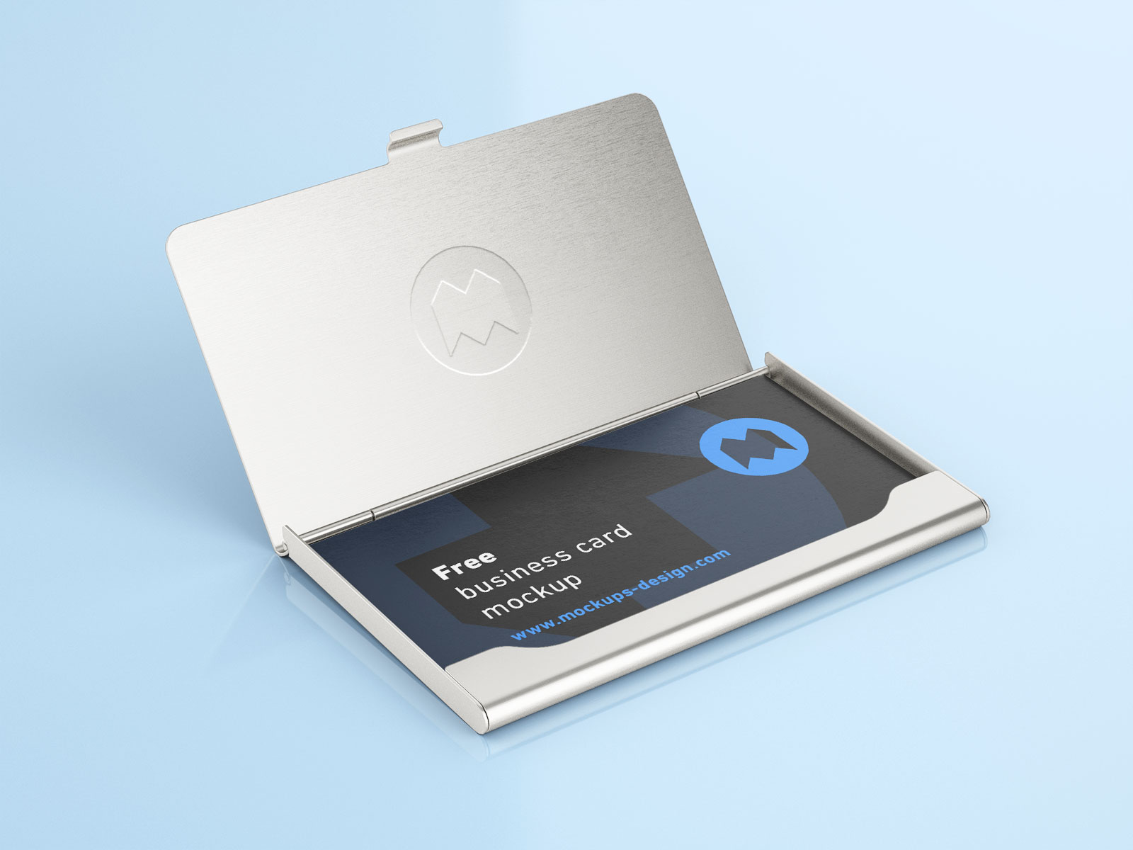 Free-Business-Card-with-Holder-Mockup-PSD-Set-4