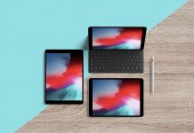 Free-Multiple-Screens-Top-View-iPad-Pro-10-5-inch-Mockup-PSD