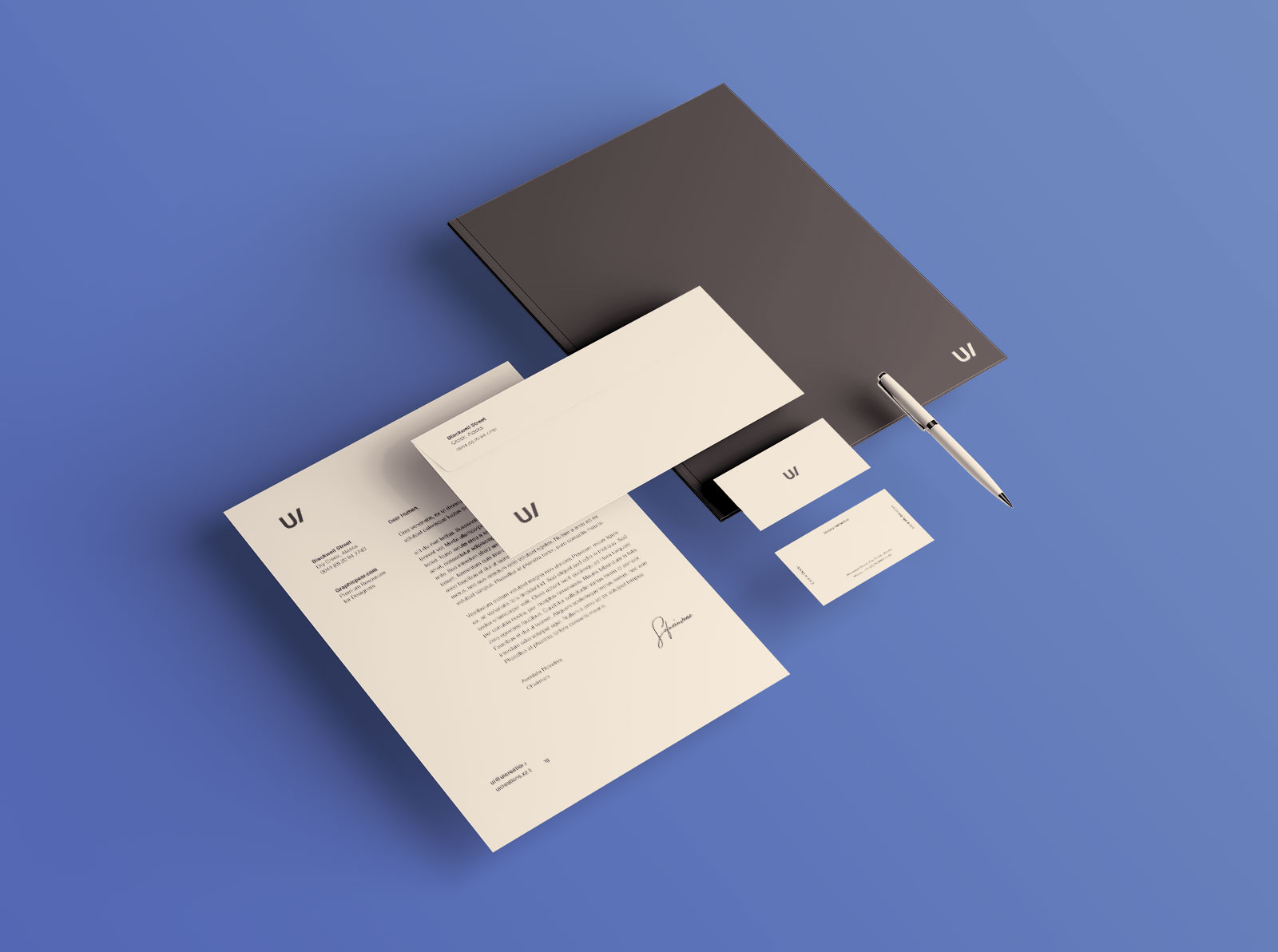 Free Professional Premium Corporate Identity Mockup PSD Set (1)