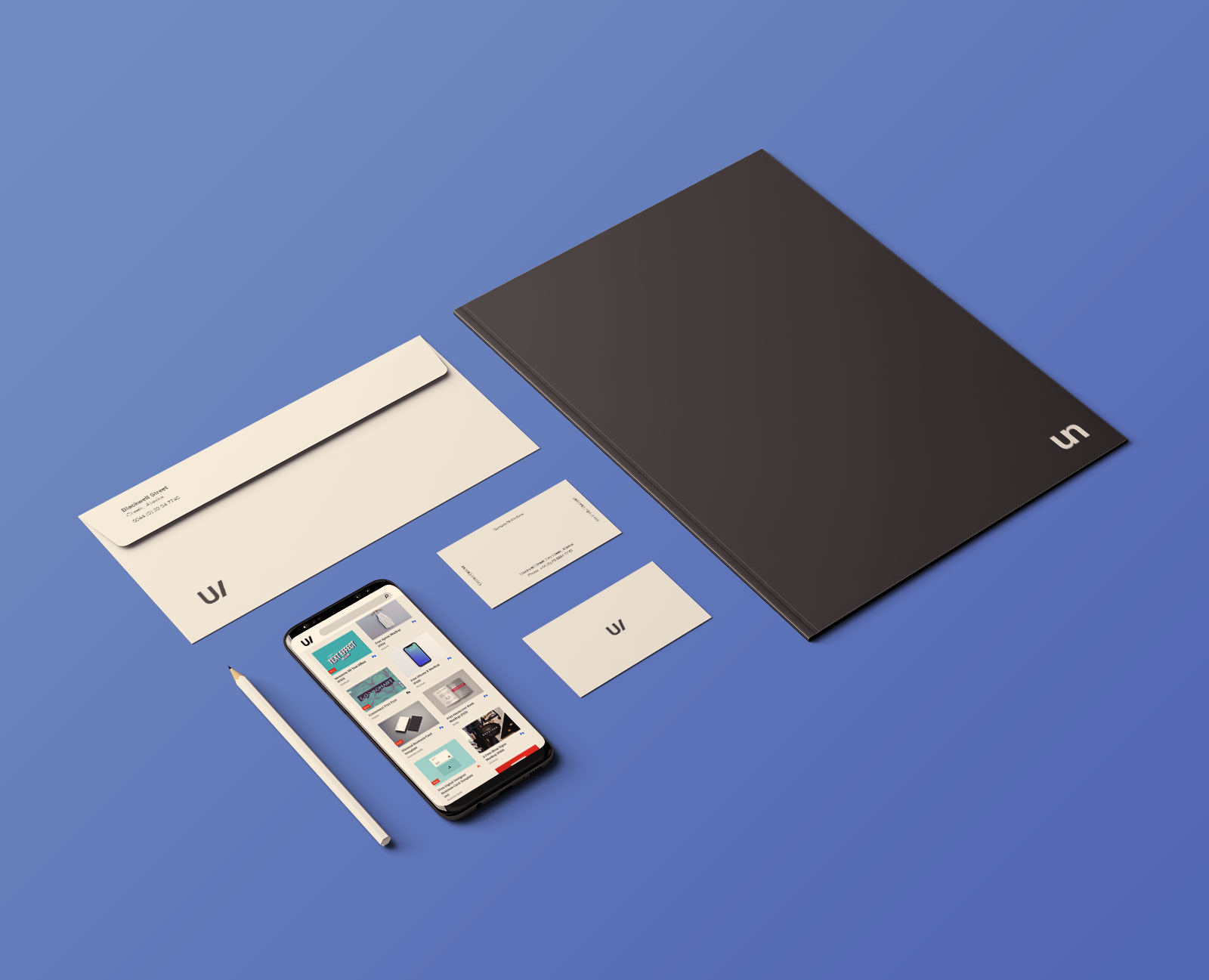 Free Professional Premium Corporate Identity Mockup PSD Set (4)