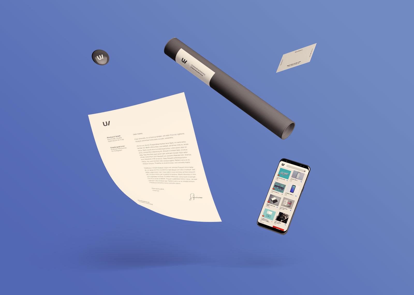 Free Professional Premium Corporate Identity Mockup PSD Set (7)