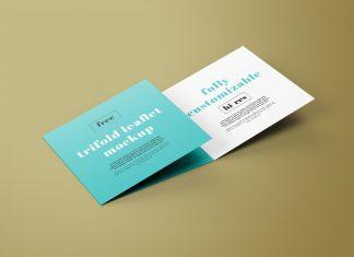 Free-Square-Tri-Fold-Brochure-Mockup-PSD-Set-(3-