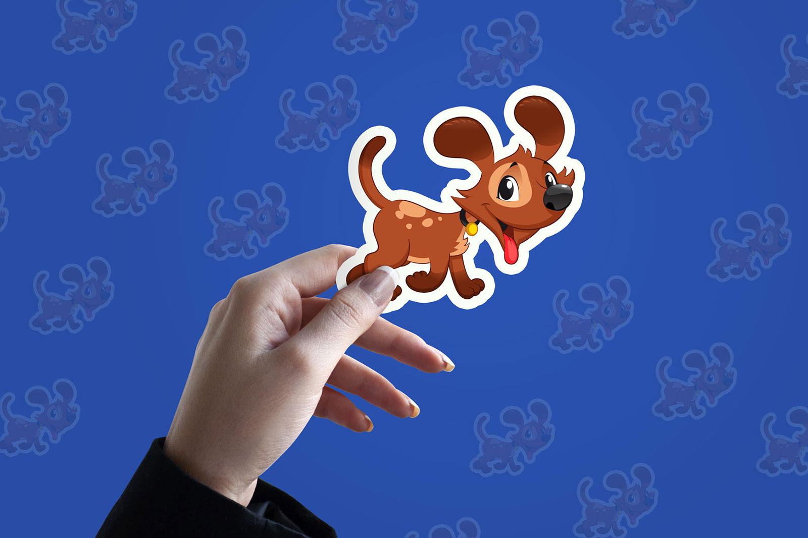 Free-Sticker-Mockup-PSD-