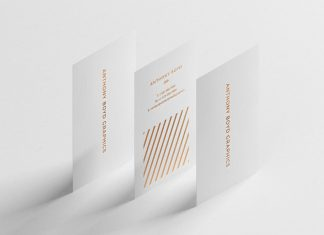 Free-Vertical-White-Business-Card-Mockup-PSD-with-Foil