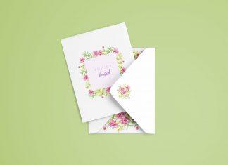 free-Invitation-Card-&-Envelop-Mockup-PSD