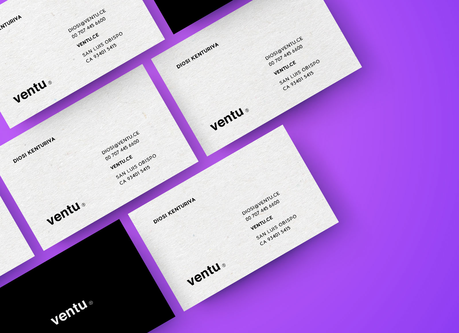 Free Business Card Mockup Presentation PSD