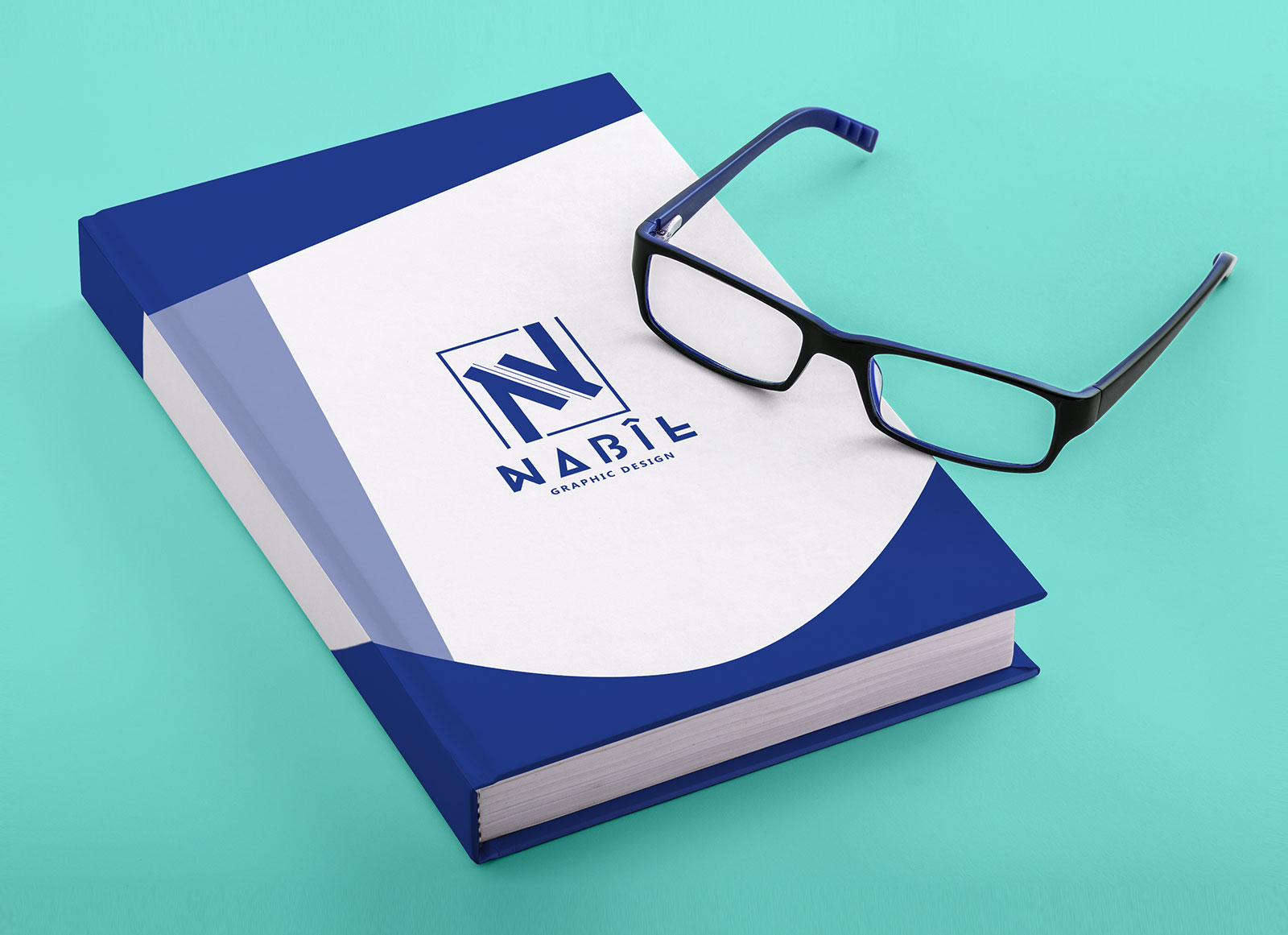 Free-Hardcover-Title-&-Spine-Book-Mockup-PSD