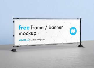 Free-Horizontal-Event-Banner-Frame-Stand-Mockup-PSD-File