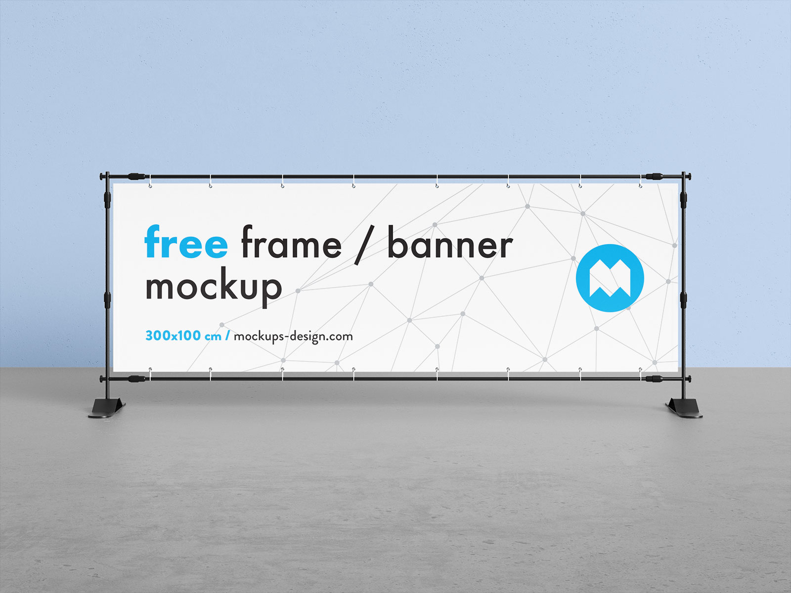 Free-Horizontal-Event-Banner-Frame-Stand-Mockup-PSD