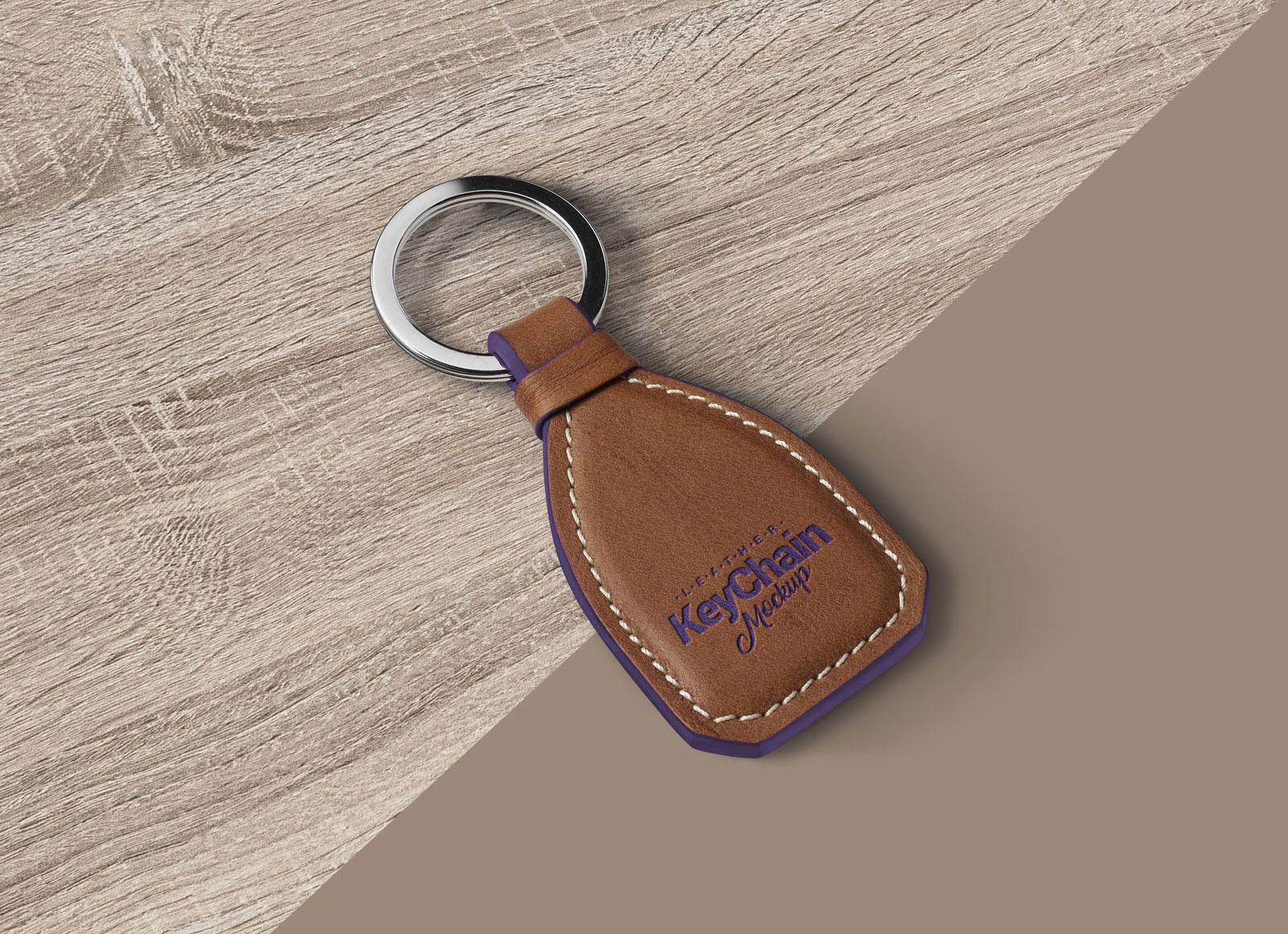Free-Leather-Keychain-Mockup-PSD