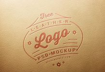 Free-Leather-Logo-Mockup-PSD