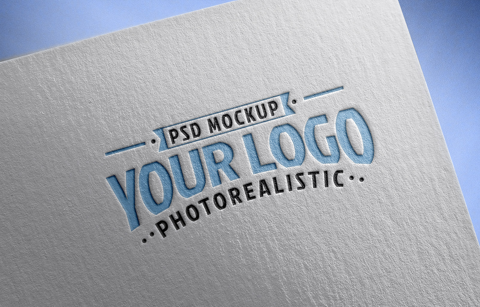 Free-Logo-Mockup-PSD-on-Textured-paper-2