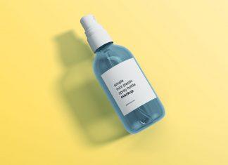 Free-Mini-Transparent-Spray-Bottle-Mockup-PSD