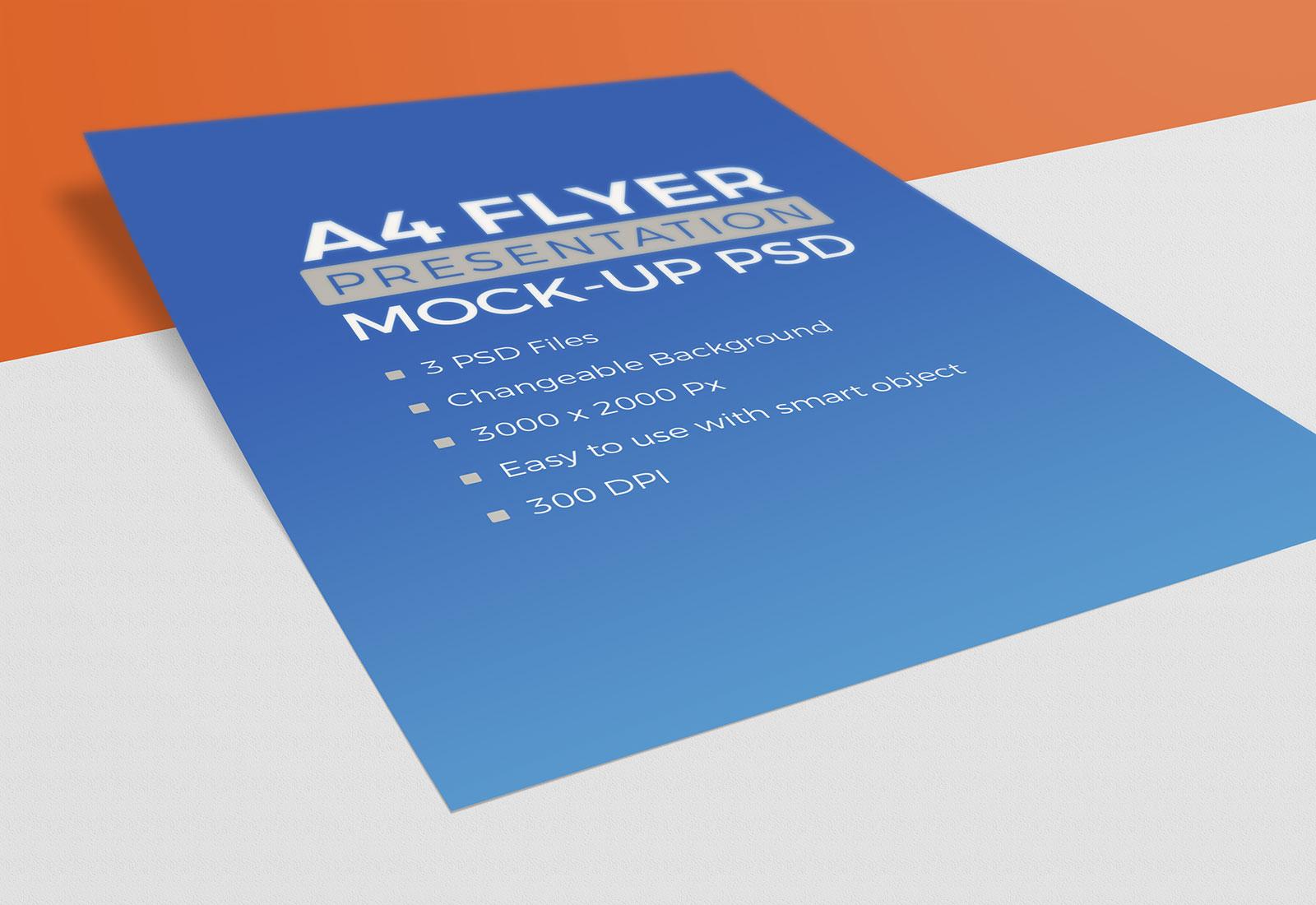 Free-A4-Resume-Letterhead-Flyer-Mockup-PSD-1