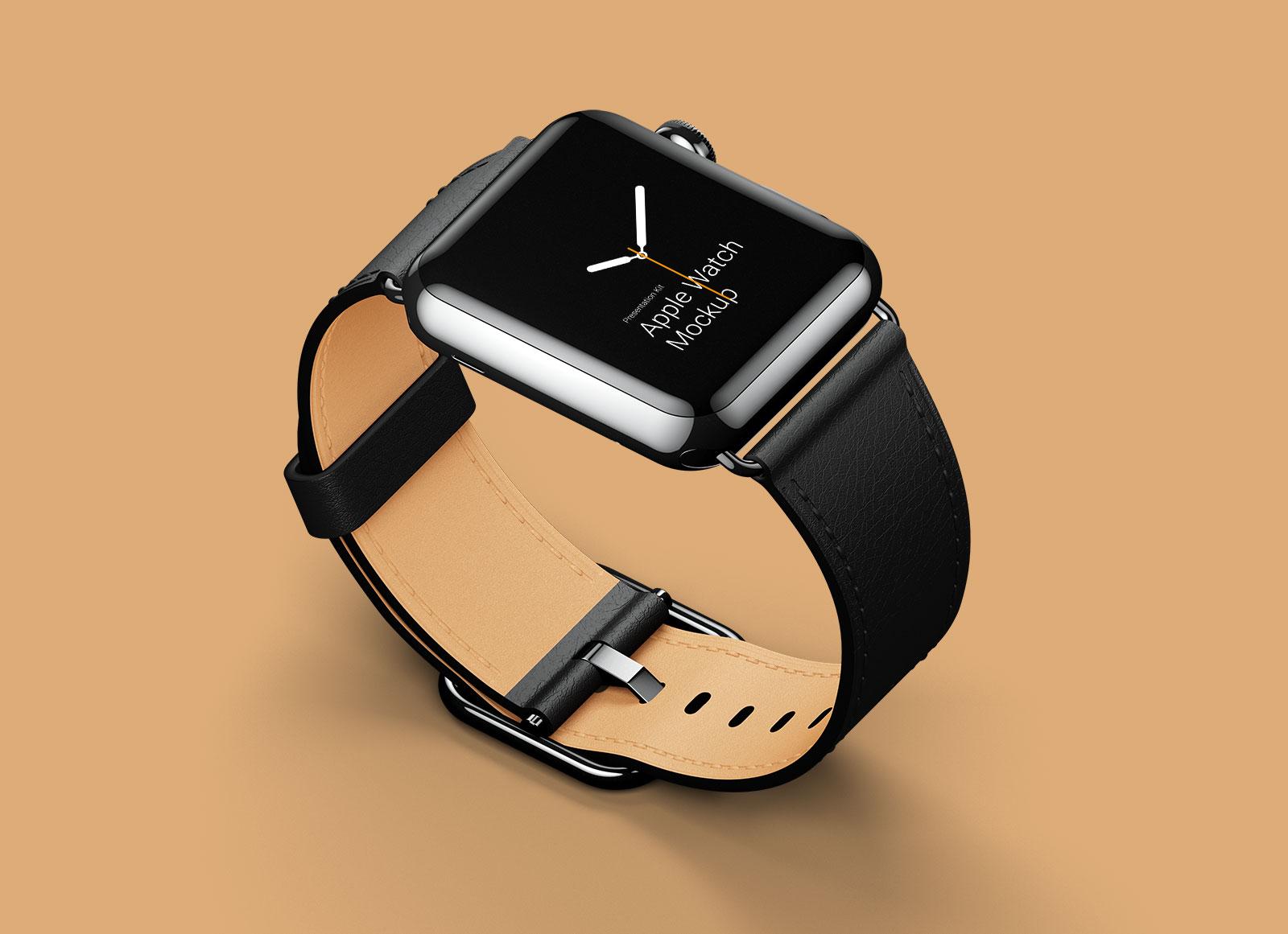 Free-Apple-Watch-Mockup-in-PSD-&-Sketch-3 - Good Mockups