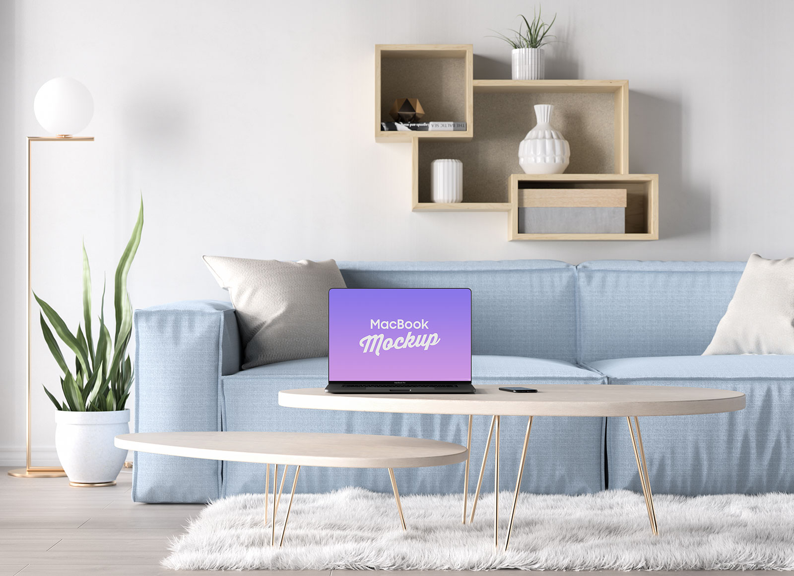 Free-Bezel-Less-MacBook-Pro-2019-in-Table-Mockup-PSD