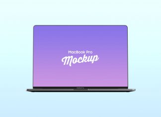 Free-Bezel-Less-MacBook-Pro-with-Touch-Bar-Mockup-PSD
