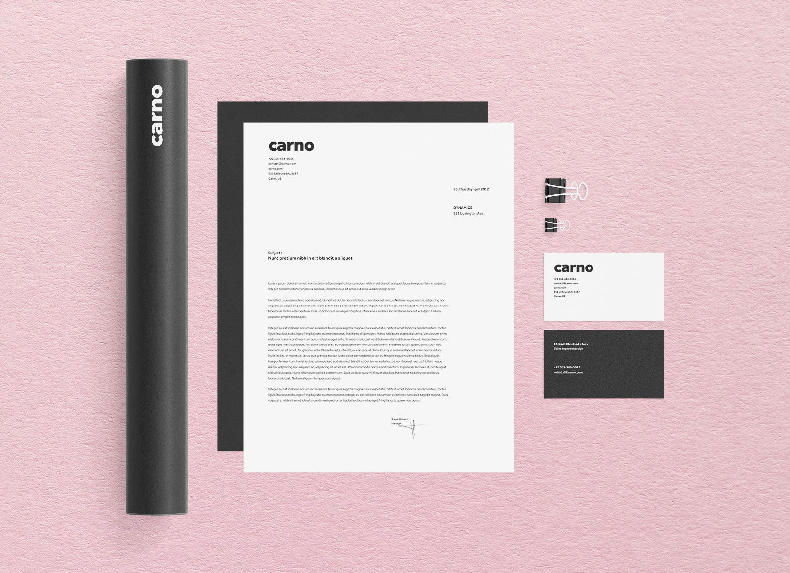 Free-Black-&-White-Brand-Identity-Mockup-PSD