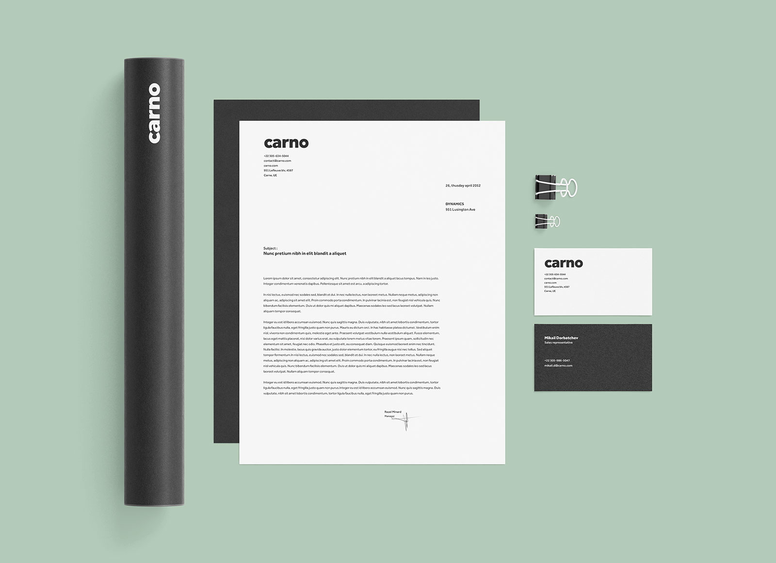 Free-Black-&-White-Stationery-Mockup-PSD