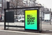Free-Bus-Shelter-Roadside-Billboard-Mockup-PSD-File