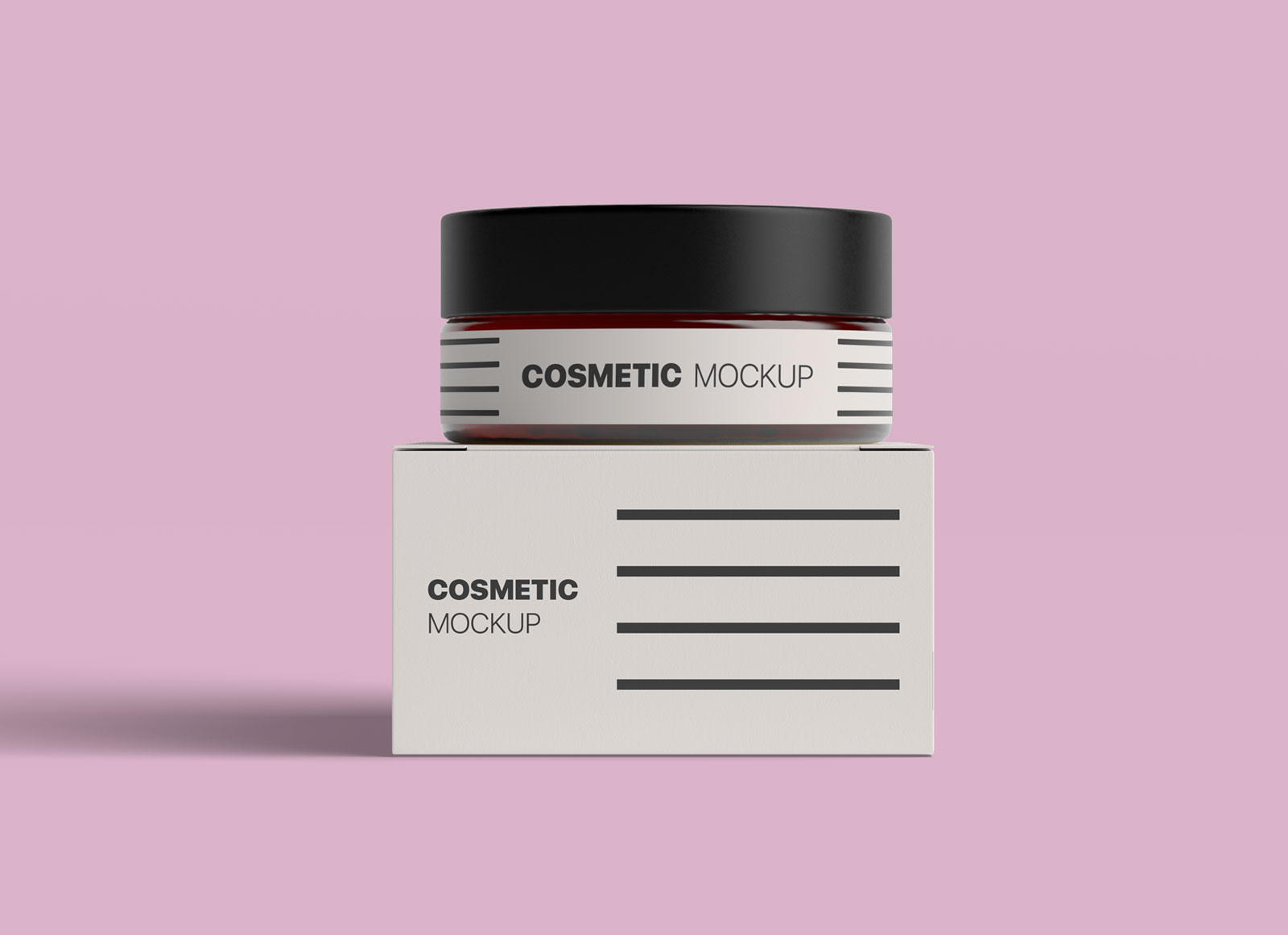 Free-Cosmetic-Bottle-&-Box-Packaging-Mockup-PSD-File