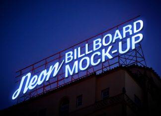 Free-Electronic-Neon-Sign-Billboard-Mockup-PSD-2