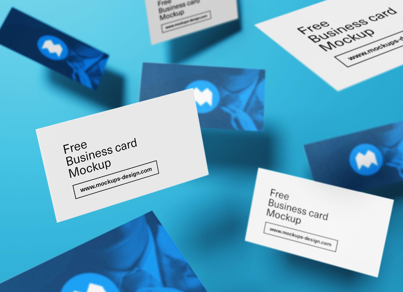 Free-Flying-Business-Card-Presentation-Mockup-PSD