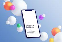 Free-Fully-Customizable-Floating-iPhone-X-Mockup-PSD