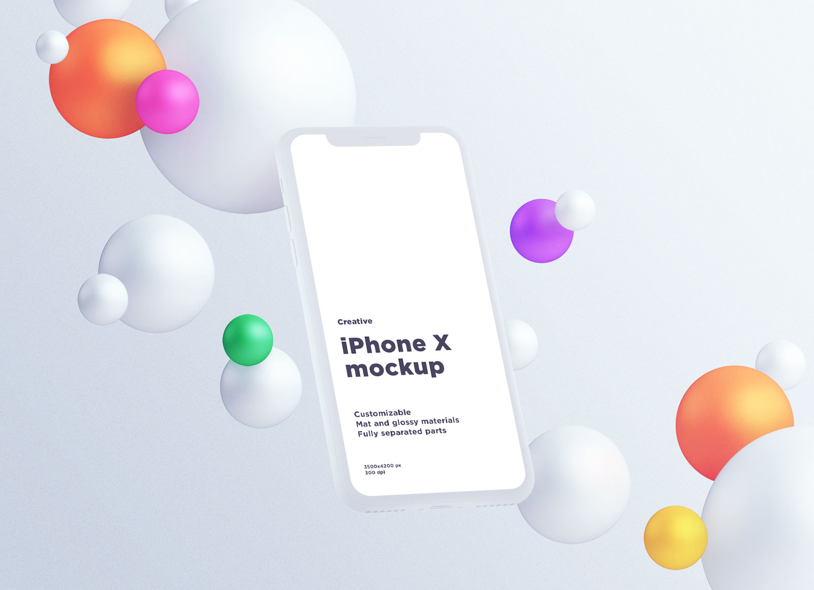 Free-Fully-Customizable-Floating-iPhone-X-Mockup-PSD-3
