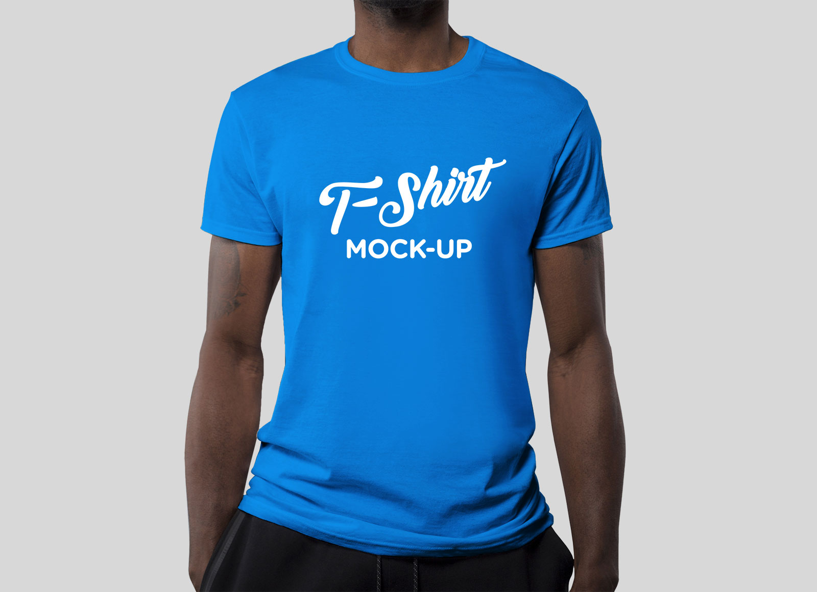 Free-Fully-Customizable-T-Shirt-Mockup-PSD