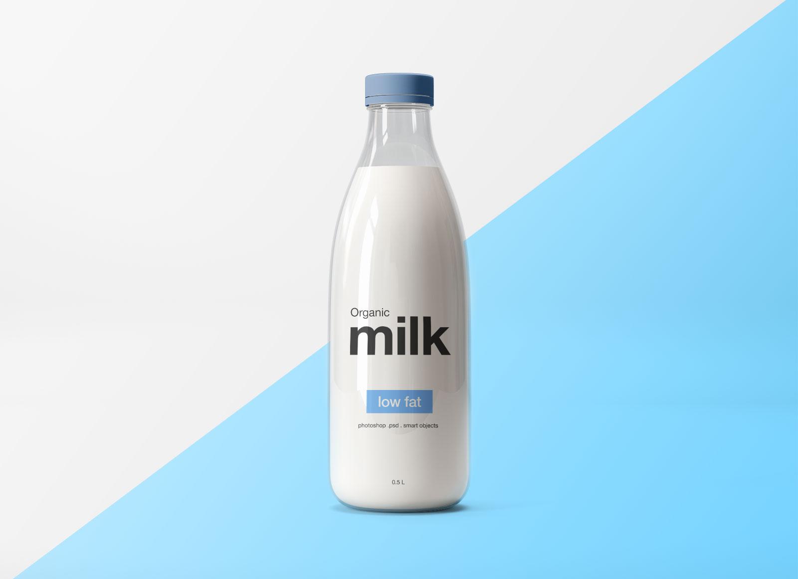 Free-Glass-Milk-Bottle-Mockup-PSD-File