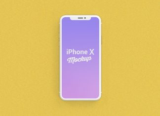 Free-Gold-iPhone-X-Mockup-PSD