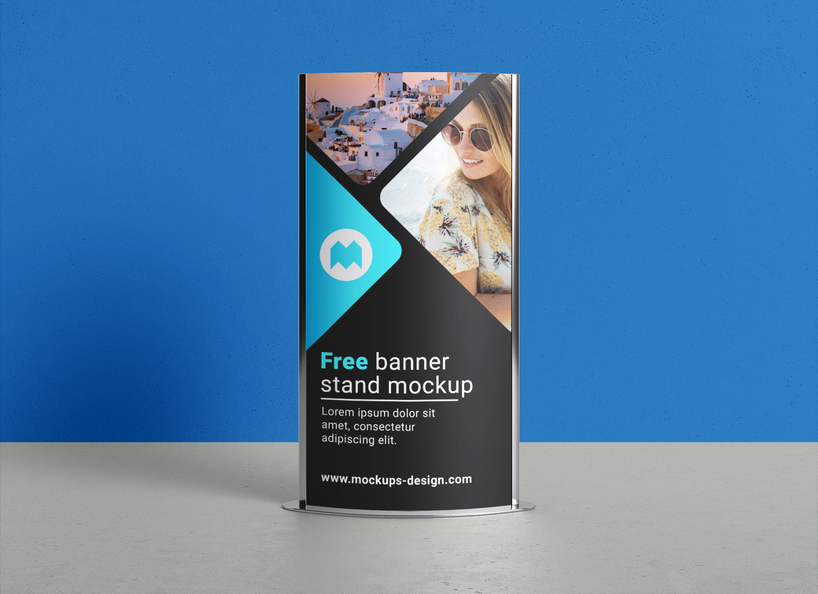 Free-Indoor-Ourdoor-Poster-Display-Stand-Mockup-PSD-File-2