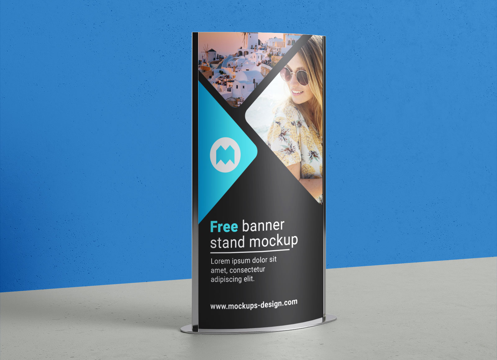 Free-Indoor-Ourdoor-Poster-Display-Stand-Mockup-PSD-File