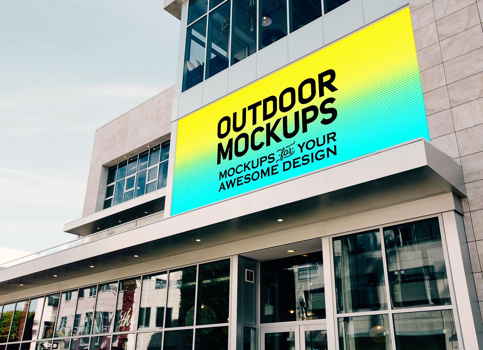 Free-Outdoor-Advertising-Building-Branding-Billboard-Mockup-PSD