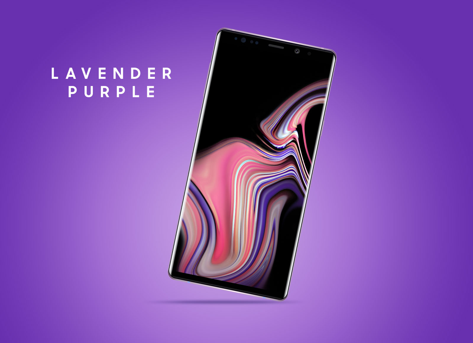Free-Samsung-Galaxy-Note-9-Mockup-PSD-Lavender-Purple-Color