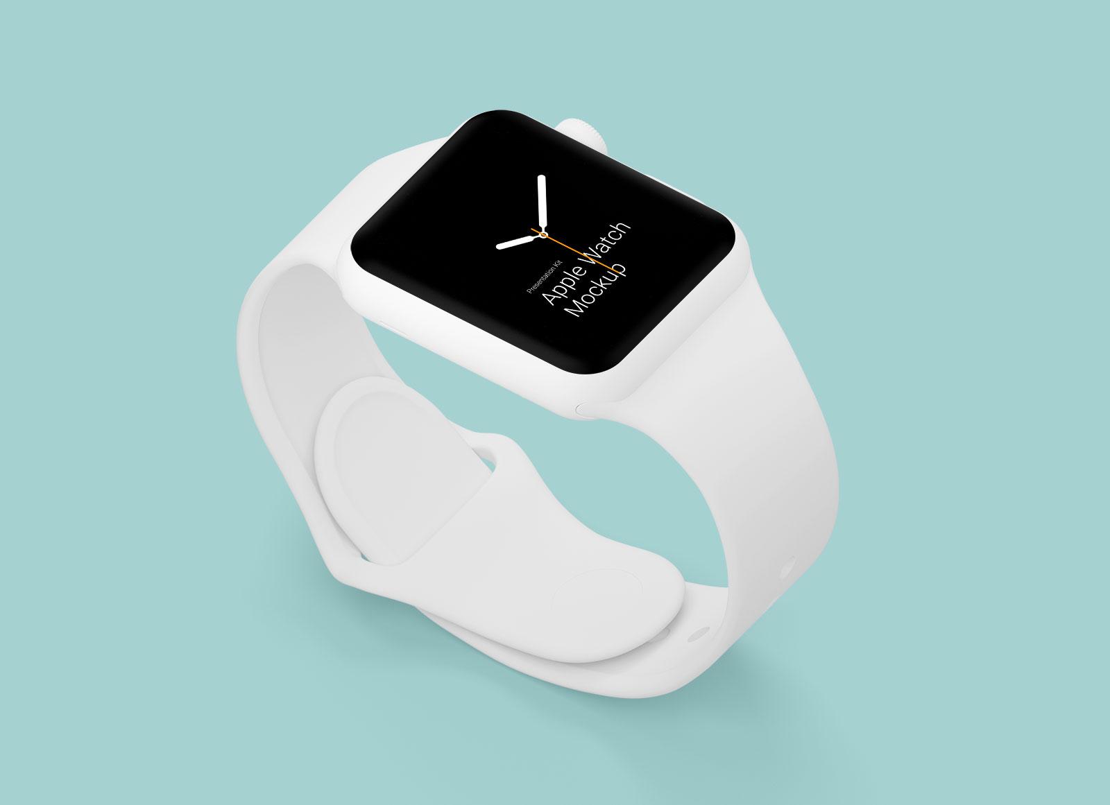 Free-White-Apple-Watch-Mockup-in-PSD-&-Sketch