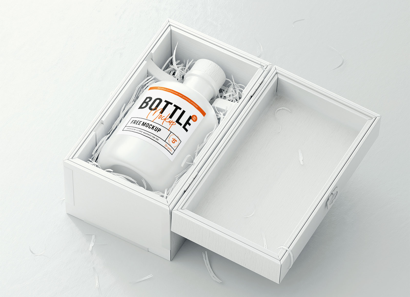 Free-White-Bottle-Mockup-PSD