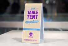 Free-2-Sided-Plastic-Table-Tent-Mockup-PSD-2