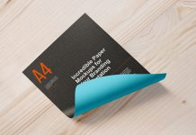Free-A4-Size-Curl-Paper-Mockup-PSD