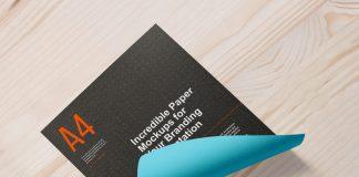 Free-A4-Size-Curl-Paper-Mockup-PSD