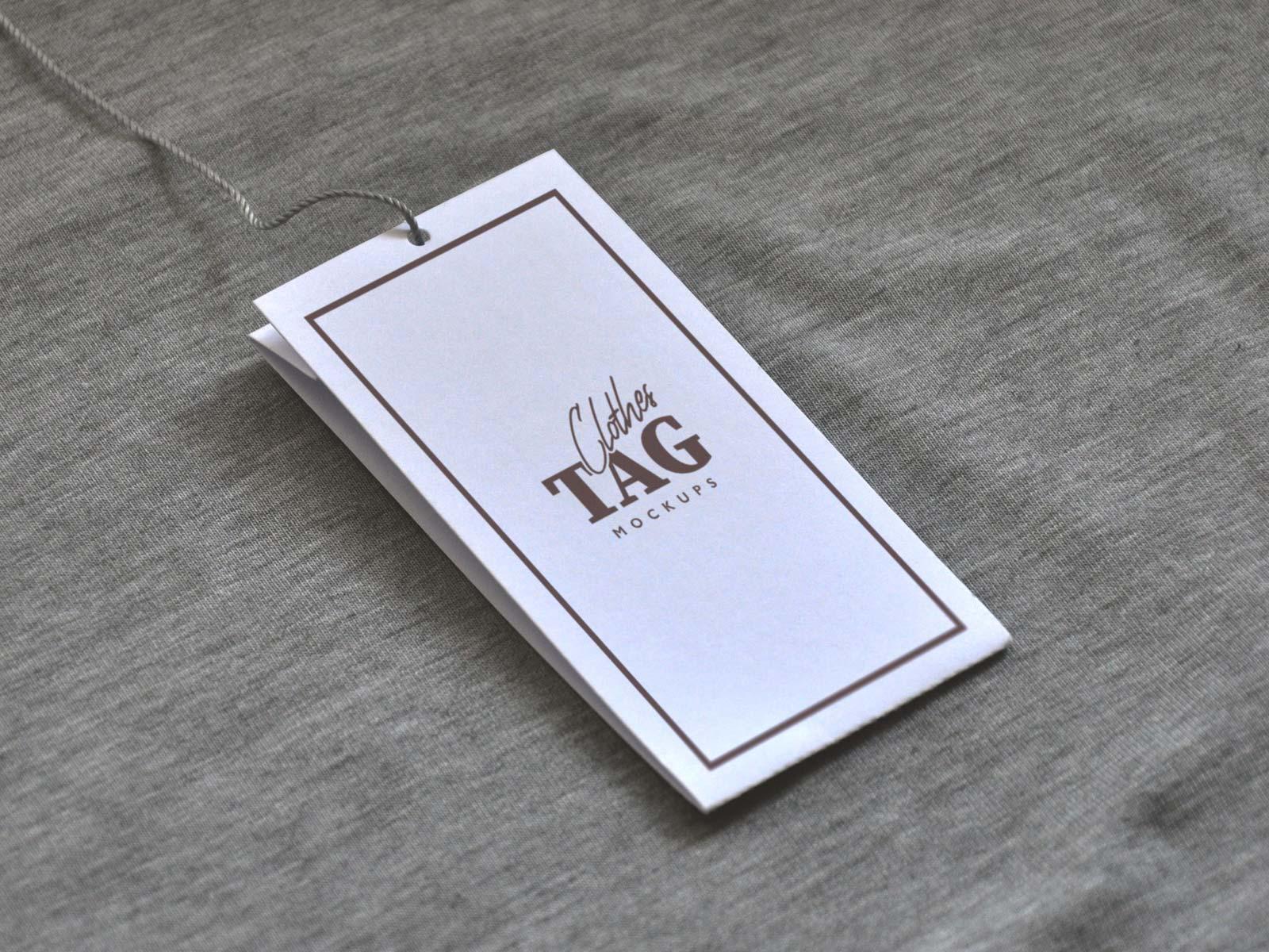Free-Cloth-Label-Hang-Tag-Mockup