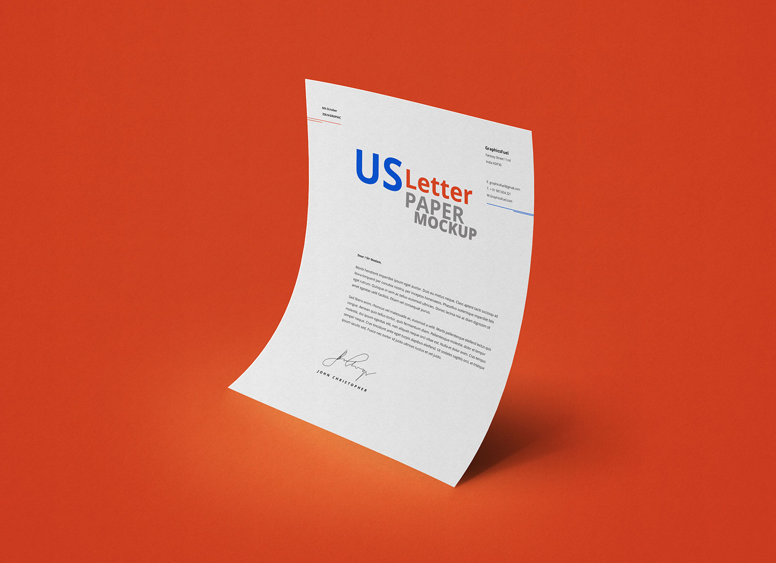 Free-Curved-A4-Paper-Mockup-PSD-File