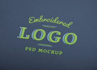 Free-Fabric-Embroidered-Logo-Mockup-PSD
