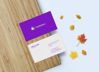 Free-Front-&-Back-Business-card-mockup-PSD-File