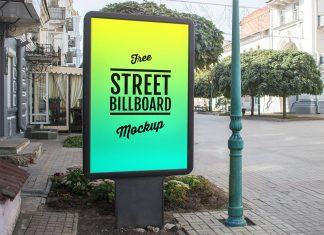 Free-Outdoor-Advertising-Display-Street-Billboard-Mockup-PSD-2